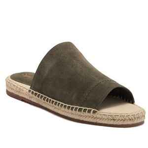 Splendid Thorpe Espadrille Slide Sandal Suede